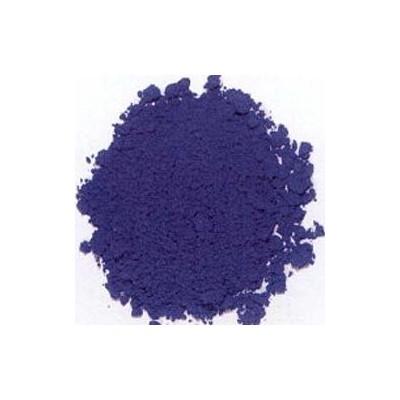 pigment bleu à la chaux