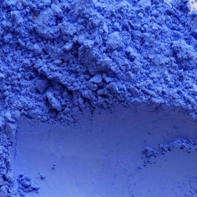 pigment bleu lavande en poudre