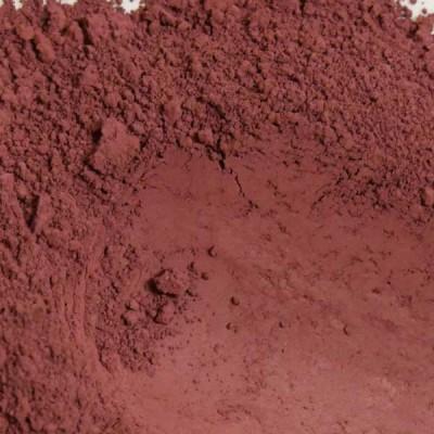 plum pigment in powder