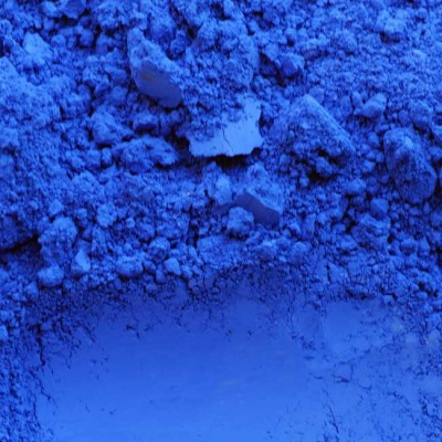 pigment bleu outremer fonce