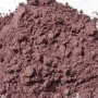 pigment parme , oxyde de fer naturel