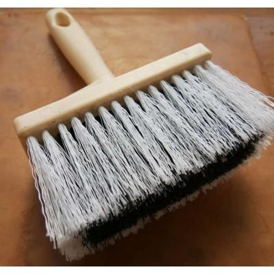 brosse pour badigeon en poils synthetiques pour badigeons sur surfaces irrégulières