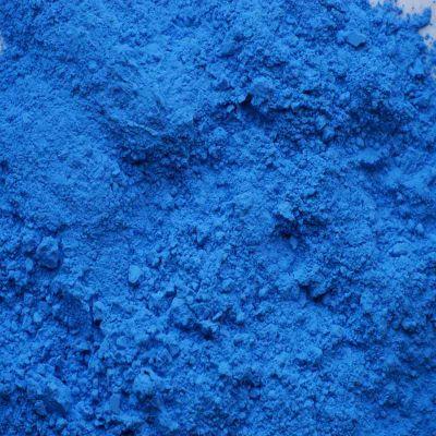 pigment bleu pastel