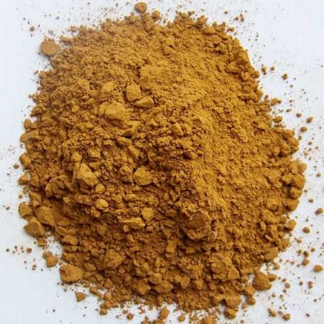natural sienna pigment powder
