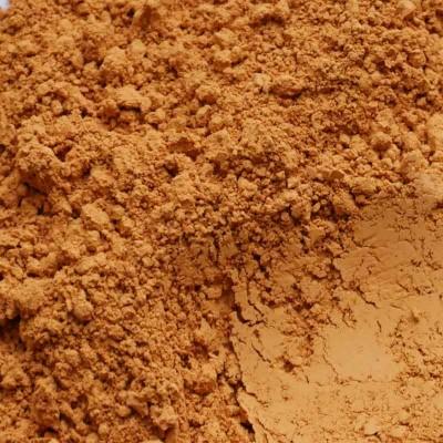 pigment ocre havane en poudre