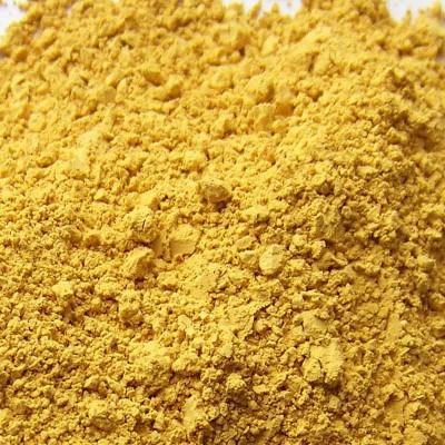 pigment ocre jaune icles du veneto en poudre